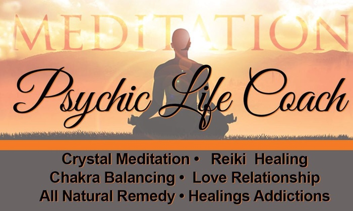 Psychic Life Coach - Multiple Locations: Up to 82% Off Psychic Readings  at Psychic Life Coach
