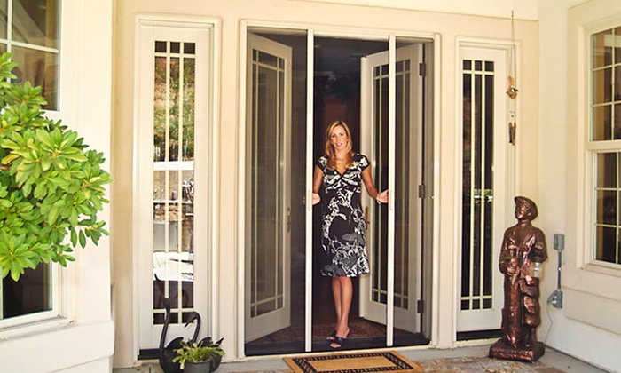 275 Toward A Custom Retractable Screen Door
