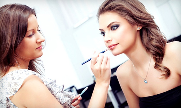 Casbah Evolution - South Surrey: One-Hour Makeup Lesson for One or Two at Casbah Evolution (Up to 53% Off)