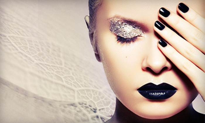 Pandora Salons - Northdale: $35 for a Manicure and Jelly Pedicure at Pandora Salons ($70 Value)