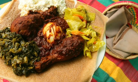 $11 for $21 Worth of Ethiopian Cuisine at Aster's Ethiopian Restaurant