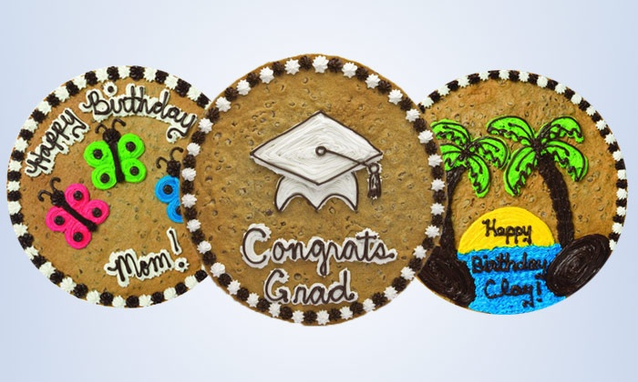 Great American Cookies - Odessa: $13 for a 12-Inch Cookie Cake from Great American Cookies ($24.99 Value)