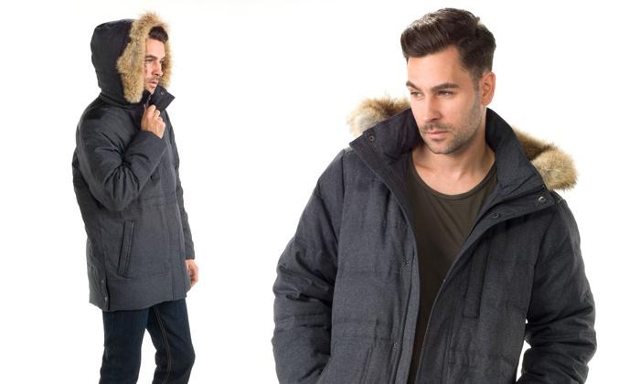 Joseph Abboud Men's Down Parka Jacket | Groupon
