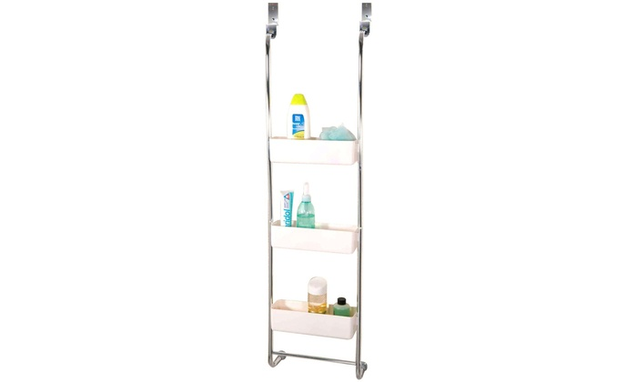 Three Tier Hanging Shower Caddy Groupon