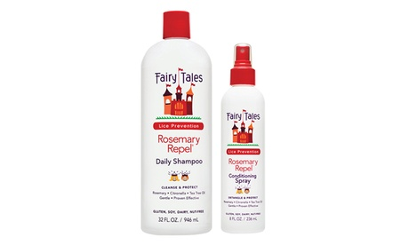 Fairy Tales Hair Care Rosemary Repel Antilice Shampoo and Leave-In Spray 69570274-9360-11e7-8cbd-00259060b5da