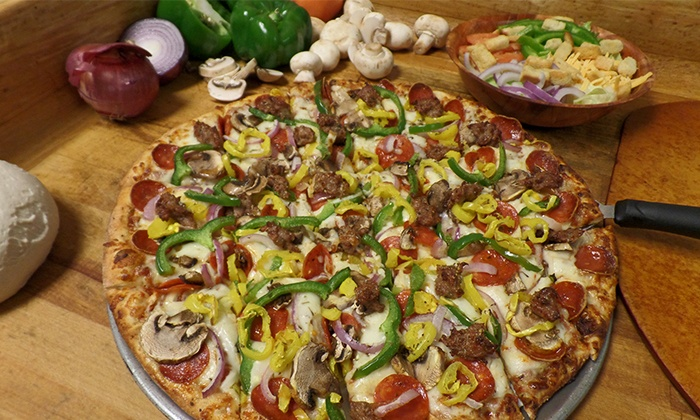 Luna Pizza Kitchen - Dublin/Hilliard: Pizza and Sandwiches at Luna Pizza Kitchen (Up to 45% Off). Two Options Available.