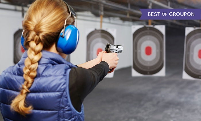 Off Duty Armory - Burleson: Concealed-Handgun-License Course for One or Two with Range Time or 10 Range Visits (Up to 73% Off)