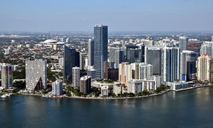 ATA Flight School: Aerial Tour of Miami Beach and Downtown for Two or Four from ATA Flight School (44% Off)