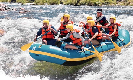 Introductory or Advanced Whitewater-Rafting Tour for 1, 2, or 4 from Pacific NW Float Trips (Up to 51% Off)