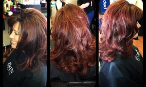 Hair by Amberlynn: Up to 52% Off Haircut, Color, and Highlights  at Hair by Amberlynn