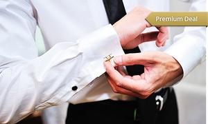 Kuhl Production & Marketing: 1, 2 oder 3 Business- oder Broker-Voll-Maßhemden mit 40 Stoffen zur Wahl sowie Maßtermin u. Beratung von KPM ab 69,95 €