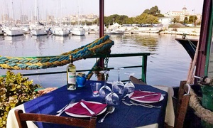 Peccato di Gola in Mare: Menu di mare con calice di vino per 2 o 4 persone al ristorante Peccato di Gola in Mare (sconto fino a 60%)