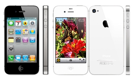 iPhone 4 ou 4S de 8, 16 ou 32 GB recondicionado desde 99€