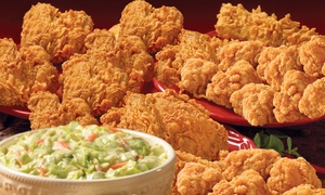 Popeyes Louisiana Kitchen: Game Day Platter, Family Feast Platter, or Super Seafood Platter at Popeyes Louisiana Kitchen (Up to 44% Off)