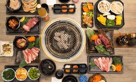 99584e4d59e6 All-you-can-eat japanese bbq with sake for two ( 89) or four ( 169) at  shinbashi yakiniku