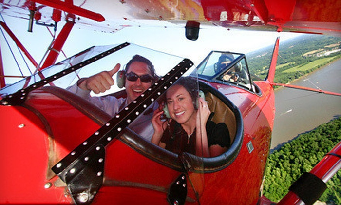 Classic Biplane Tours - Bowman: $80 for 20-Minute Biplane Tour of Louisville from Classic Biplane Tours ($170 Value)