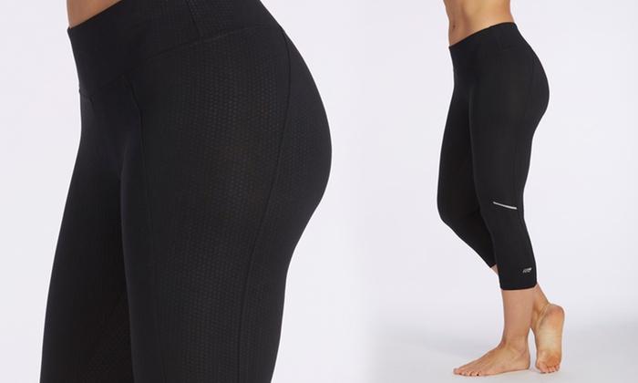 Marika Tek Fixate Women's Embossed Capri Leggings