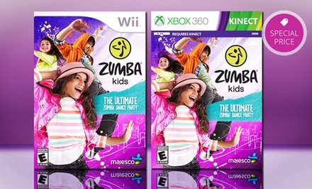 Zumba Kids for Wii or Xbox 360 Kinect