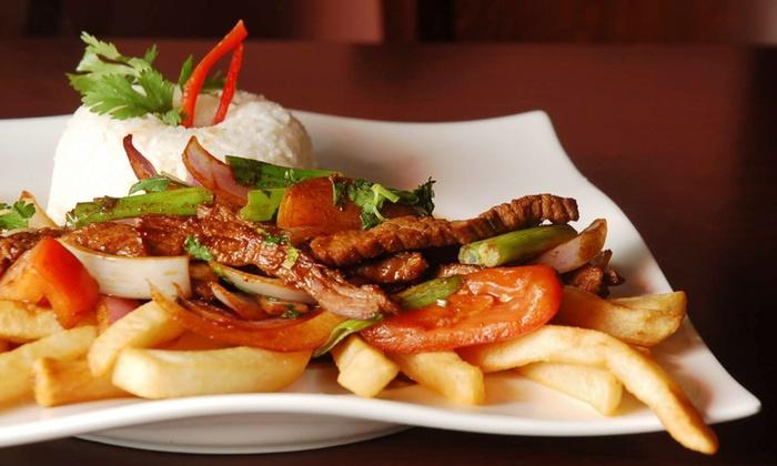 Peruvian Food at Machu Picchu Peruvian Cuisine - Seafood Grill & Bar - Pineville: Peruvian Food at Machu Picchu Peruvian Cuisine - Seafood Grill & Bar (Up to 45% Off). Three Options Available.