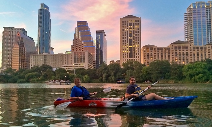Big Tall Gringas - Austin: Kayak Tour to See Bats for Two, Four, or Six from Big Tall Gringas (Up to 51% Off)
