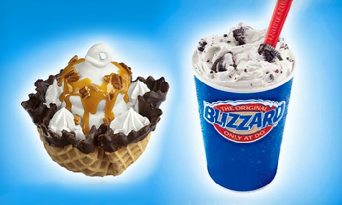 DQ Grill & Chill  - Lebanon: $10 for Five Blizzards, Premium Fruit Smoothies, or Royal Treats at DQ Grill & Chill in Lebanon ($21.45 Value)