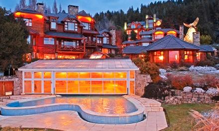 Bariloche: desde $2699 por 2, 3, 4, 5 o 7 noches para dos + desayuno + spa + copas de bienvenida en Nido del Condor