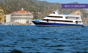 The Catalina Flyer from Newport Beach: $39 for a Round-Trip Boat Ride to Catalina Island in 2016 (Up to $70 Value)