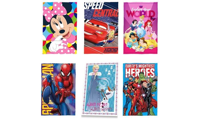Coperta Pile Con Foto Groupon.Coperta In Pile Disney E Marvel Groupon Goods