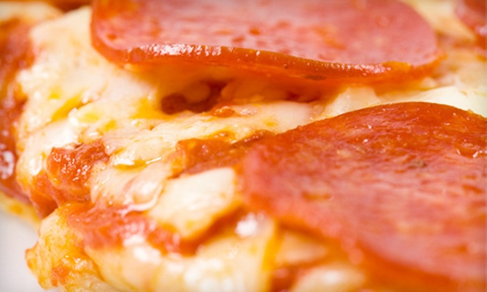 The Pizza Grille of Mystic - Montauk: $15 for $30 Worth of Grilled Pizza, Calzones, and Pasta at The Pizza Grille of Mystic