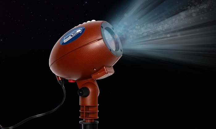 Nfl Team Pride Glow Bright Led Projector Light Groupon