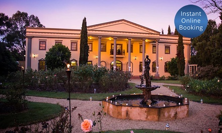$59 for a Barossa Day Experience with Lunch and Wine for Two People at Barossa Chateau, Lyndoch Up to $165 Value