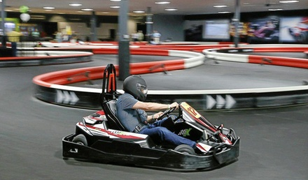 Two Kart Races and Required Racer License at Xtreme Kart Racing and Virtual Reality (Up to 42% Off)