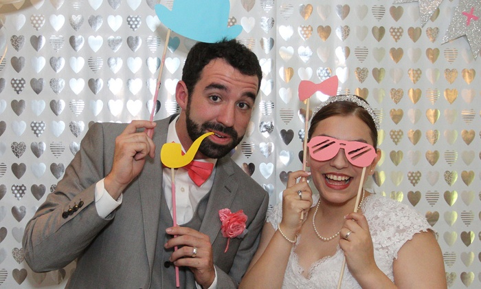 HQ Photo Booths - Houston: Three-, Four-, or Five-Hour Photo-Booth Rental Package from HQ Photo Booths (Up to 55% Off)