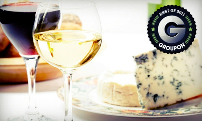Corkscrews - Old Town Meridian: $14 for Two Wine Flights and One Cheese Plate at Corkscrews in Meridian ($28 Value)