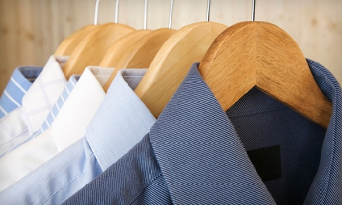 Lapels Dry Cleaning - Multiple Locations: Dry-Cleaning Services at Lapels Dry Cleaning (Up to 53% Off). Two Options Available.