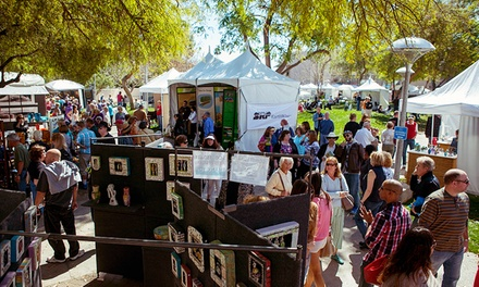 Single-Day Visit for Two, Four, or Six at Scottsdale Arts Festival (Up to 54% Off)