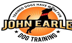 John Earle Dog Training: $112 for Obedience School at John Earle Dog Training