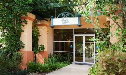 Spa-Day Package with Optional One-Month Gym and Pool Membership at Soleil Palm Aire Spa (Up to 52% Off)