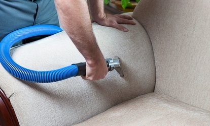 Sofa Steam Cleaning at Good and Well Cleaning Services (Up to 67% Off)