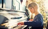 B&B Music Lessons - Eckington: $200 for Eight 30-Minute Private Music Lessons at B&B Music Lessons ($400 Value)