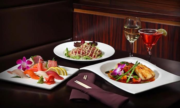 Samurai Japanese Restaurant - Colonie: Hibachi Entrees for Two or Four at Samurai Japanese Restaurant (Up to 49% Off)