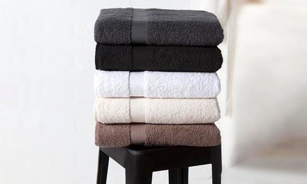 6 Serviettes de bain Twente Damask, plusieurs coloris au choix, dès 26,98€ (jusqu'à 64% de réduction)