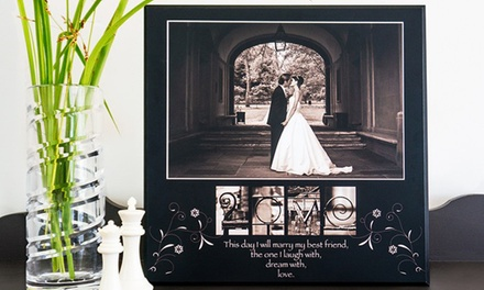 Custom MyPhoto Series Print from Frame the Alphabet (Up to 59% Off)