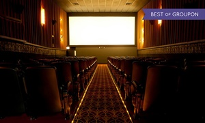 The Logan Theatre: $14 for a Movie for Two with Popcorn at The Logan Theatre ($20.50 Value)