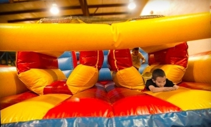 Game Time Inflatables - Moore: 6 or 12 Open-Play Kids' Bounce Passes at Game Time Inflatables (Half Off)