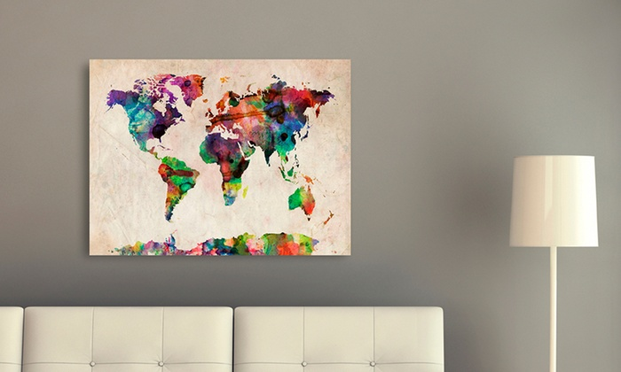 Up to 72 off on michael tompsett canvas print groupon goods michael tompsett travel themed canvas art print gumiabroncs Choice Image