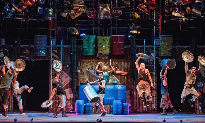 "STOMP - Bell Auditorium: ""STOMP"" at Bell Auditorium on Sunday, March 22, at 7 p.m. (Up to 31% Off)"