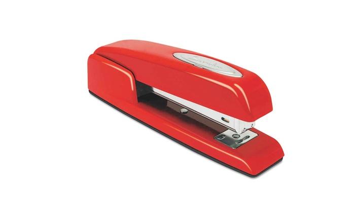 Swingline Business Full Strip Stapler: Swingline 747 Business Full Strip Desk Stapler in Rio Red. Free Returns.
