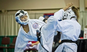 International Karate Federation: 8 or 12 Cross-Training Group Fitness Classes at International Karate Federation (Up to 84% Off)