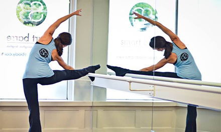Five Barre Classes or One Month of Unlimited Barre Classes at Smart Barre Cityview (Up to 52% Off)
